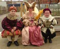 Steve_Redford_Grahame_Hughes_The_MiniMen_Tudors_Film_shoot