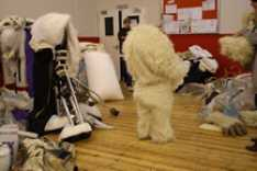 Steve_Redford_the_MiniMen_getting_suited_up_as_a_Yeti_Big_Reunion
